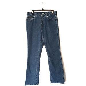 Calvin Klein High Waist Straight Leg Jean Size 10